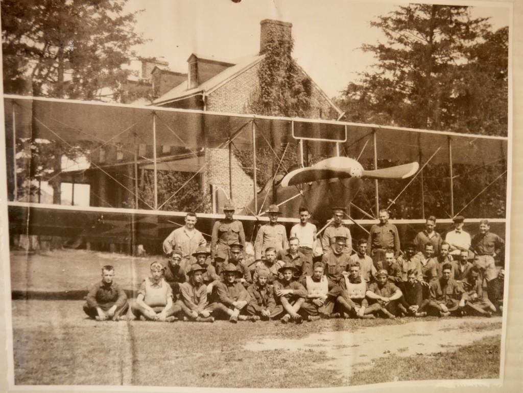 Circa 1917 at Essington Seapane Base